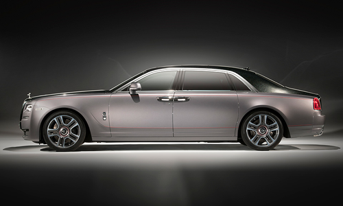 Rolls-Royce's Ghost Elegance