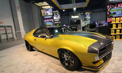 Prestone: '72 AMC Javelin AMX made by the Ringbrothers, is one of the SEMA cars awarded with a Goodguys Gold Award. (Photo courtesy of Goodguys)