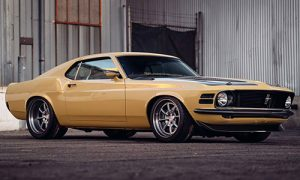 SpeedKore Performance in Grafton, Wisconsin, received a Best of Show award from Ford for its superb 1970 Boss 302 Mustang SpeedKore Performance, built for Robert Downey Jr.